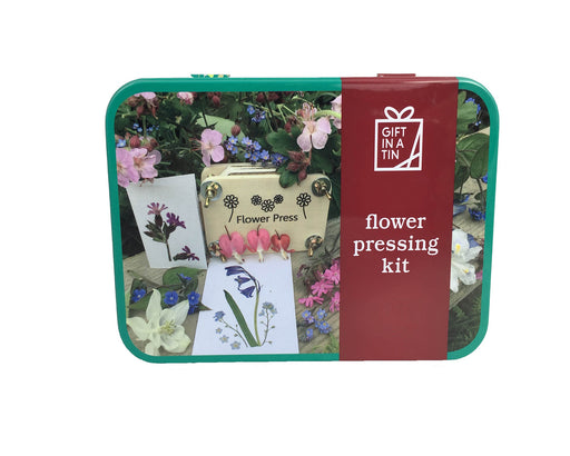 IS GIFT FLOWER PRESSING KIT