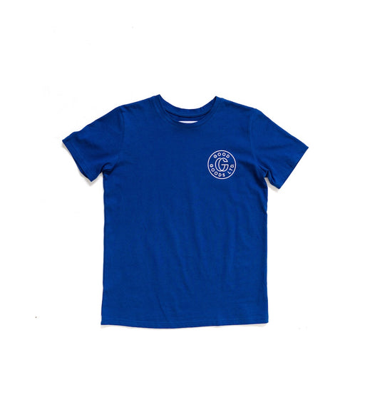 GOOD GOODS READY SET TEE - BLUE