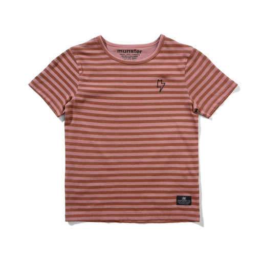MUNSTER LAYERS TEE DUSTY PINK (PRE ORDER)
