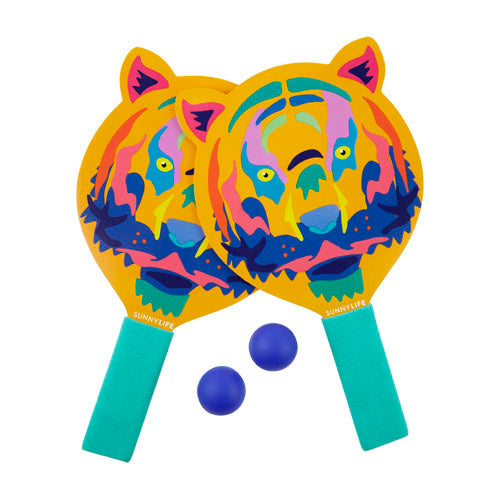 SUNNYLIFE TIGER KIDS BEACH BATS