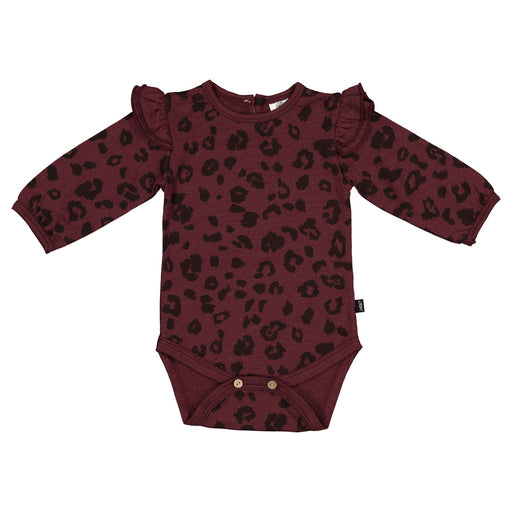 LFOH LUNA BODYSUIT MULBERRY CHEETAH