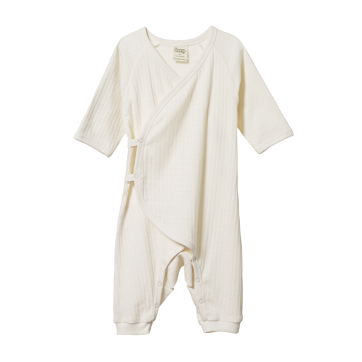 NATURE BABY KIMONO POINTELLE STRETCH & GROW - POINTELLE