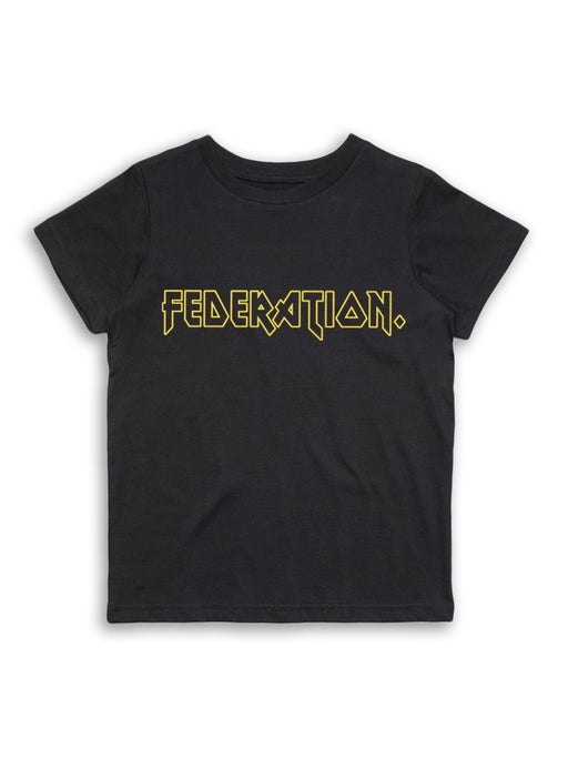 MINI FED RAD ROCK TEE - BLACK