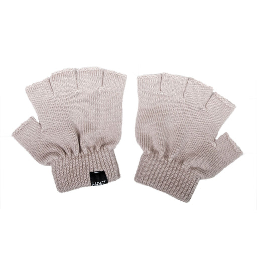 LFOH DOUBLE TROUBLE KNITTED MERINO BABY GLOVES BLUSH