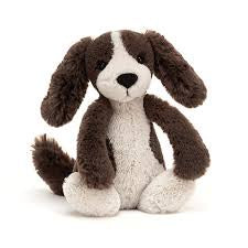 JELLYCAT BASHFUL PUPPY MEDIUM - FUDGE PUPPY