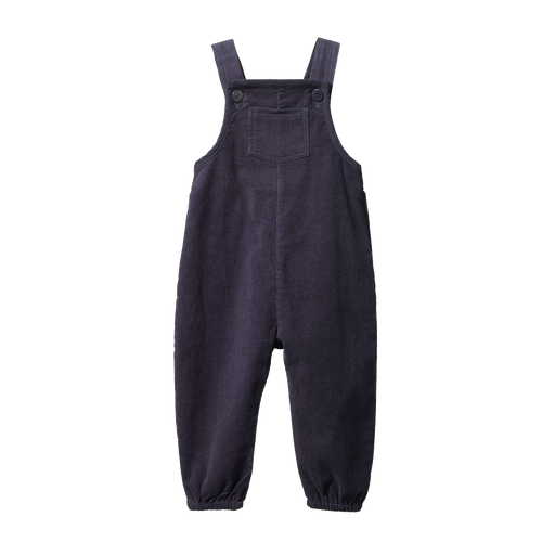 NATURE BABY TIPPER OVERALLS NAVY