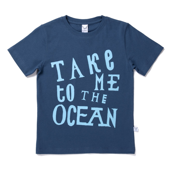 LITTLEHORN TAKE ME TO THE OCEAN TEE