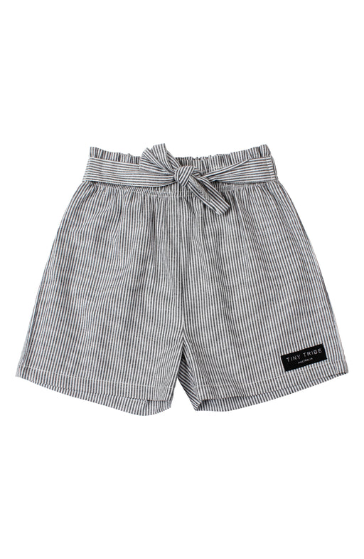 TINY TRIBE STRIPE TIE SHORT