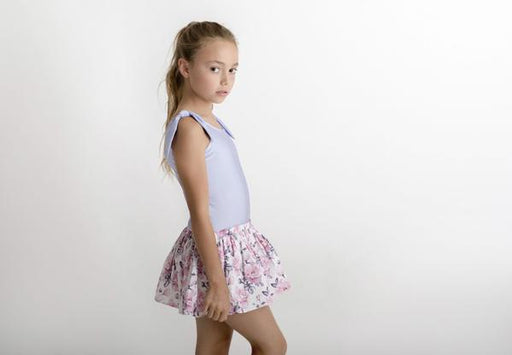 LITTLE HEARTS TUTU SKORT - BLUSH ROSE