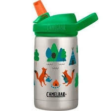 CAMELBAK EDDY DRINK BOTTLE 400MLS - STAINLESS STEEL CAMP FOXES