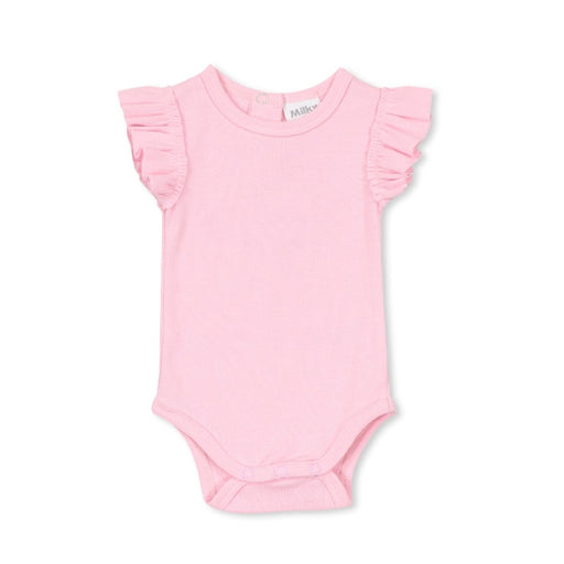 MILKY BASIC BUBBYSUIT - CANDY PINK