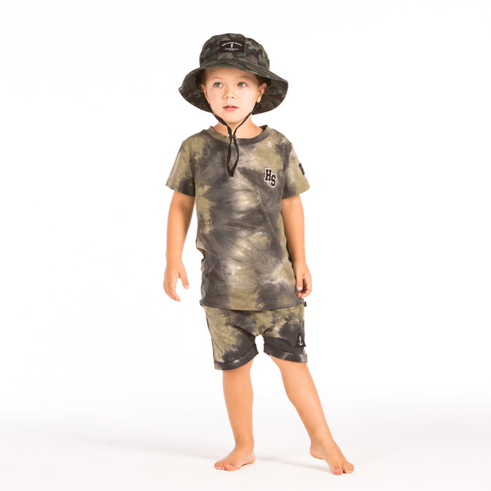 HELLO STRANGER BUCKET HAT CAMO