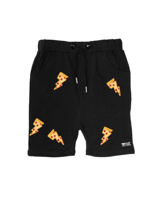 BAND OF BOYS X TMNT PIZZA RELAXED SHORTS