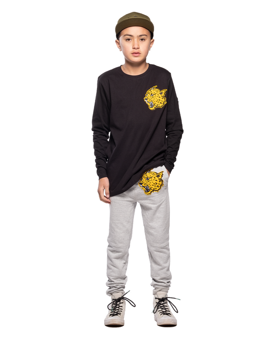 BAND OF BOYS TRACKIES PANEL FANG GREY MARLE