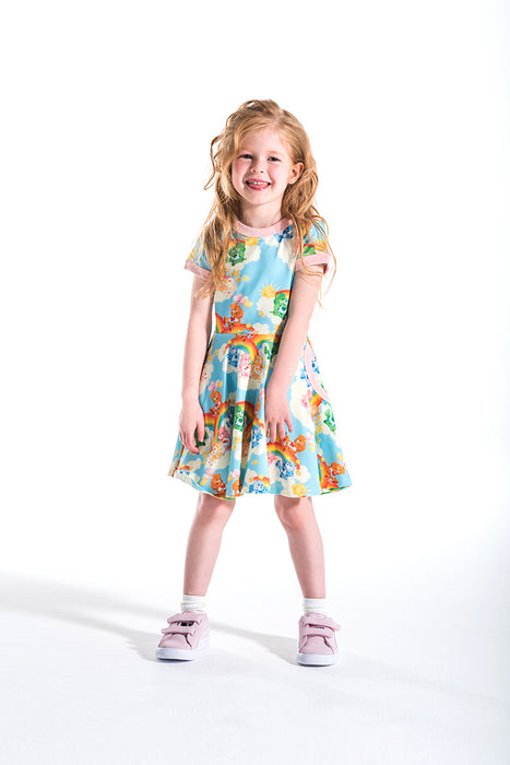 ROCK YOUR KID CARE A LOT WAISTED DRESS