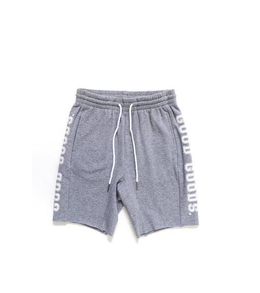 GOOD GOODS HOME SLICE SHORTS - GREY MARLE