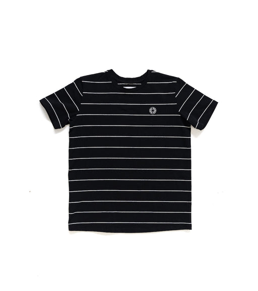 GOOD GOODS READY SET TEE - BLACK STRIPE