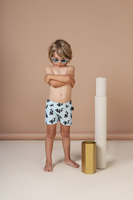 KAPOW KIDS ORCA SWIM TRUNK