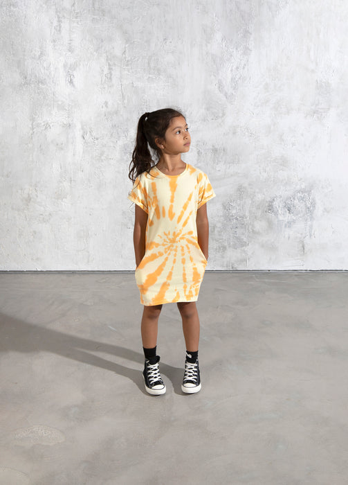 MINTI GOLDIE DRESS LEMON