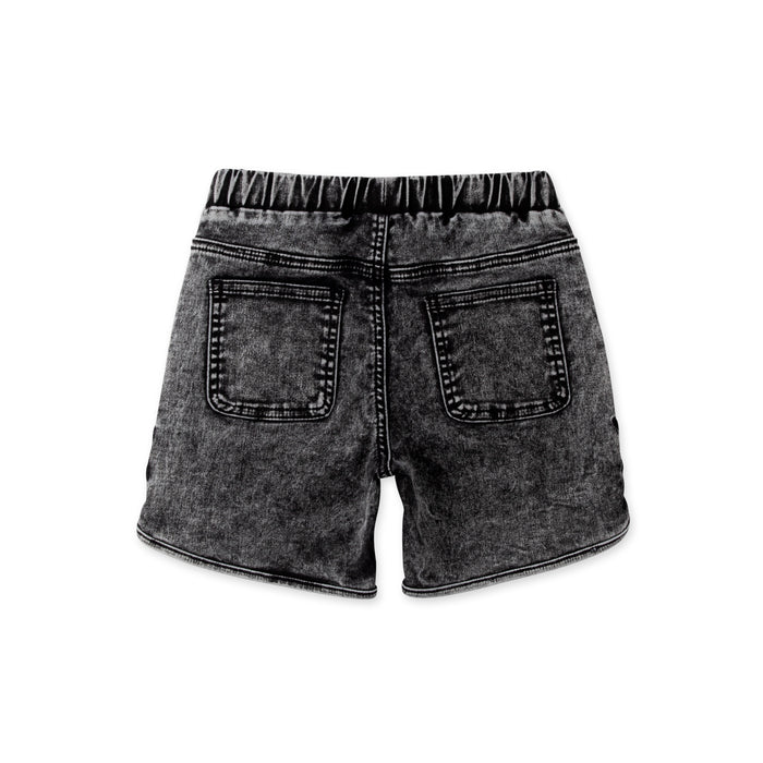 MINTI JAGGER DENIM SHORT WASHED BLACK