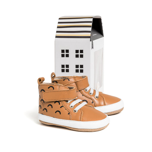 PRETTY BRAVE HI TOP CHESTNUT