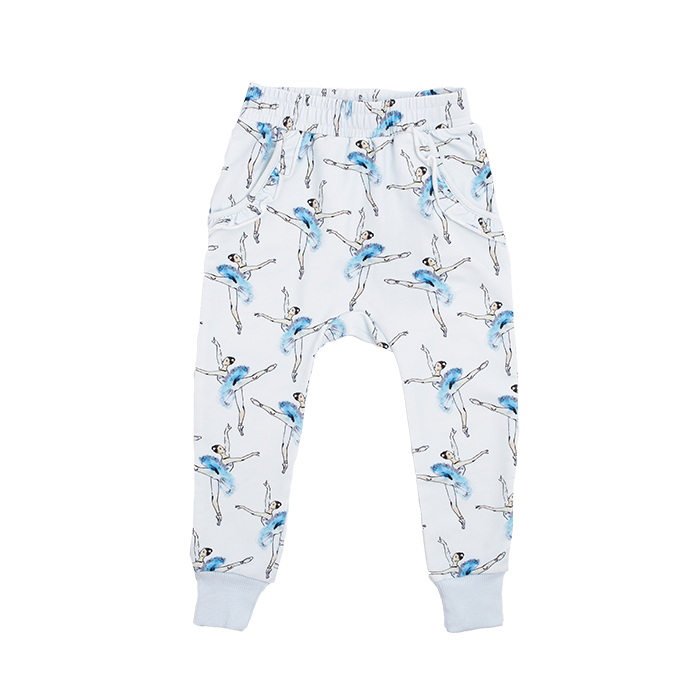 ROCK YOUR KID LETS DANCE TRACK PANTS BLUE