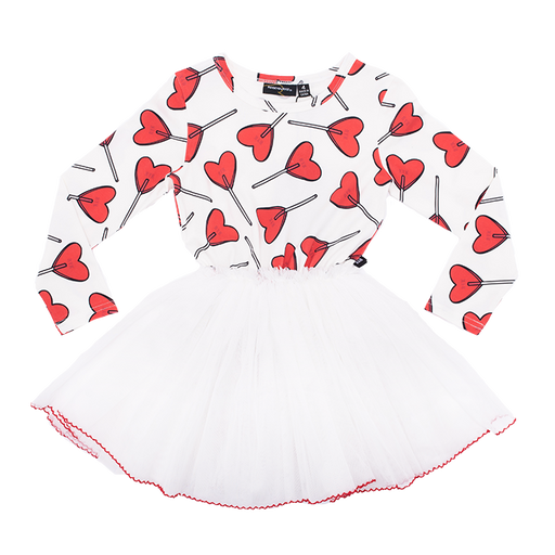 ROCK YOUR BABY LONG SLEEVE LITTLE SWEETIE CIRCUS DRESS (PRE ORDER)