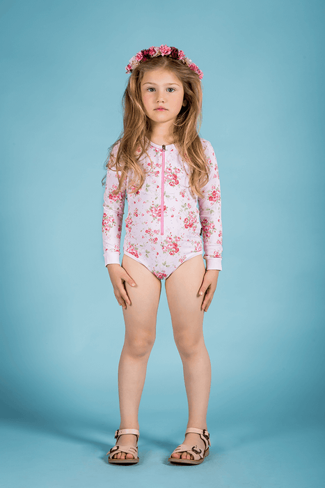 ROCK YOUR KID SUMMER ROSE L/SLEEVE ONE PIECE
