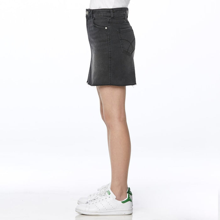 RIDERS BY LEE GIRLFRIEND SKIRT - BLACK NOIR