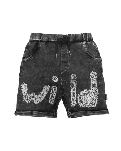 BAND OF BOYS WILD VINTAGE BLACK SHORTS