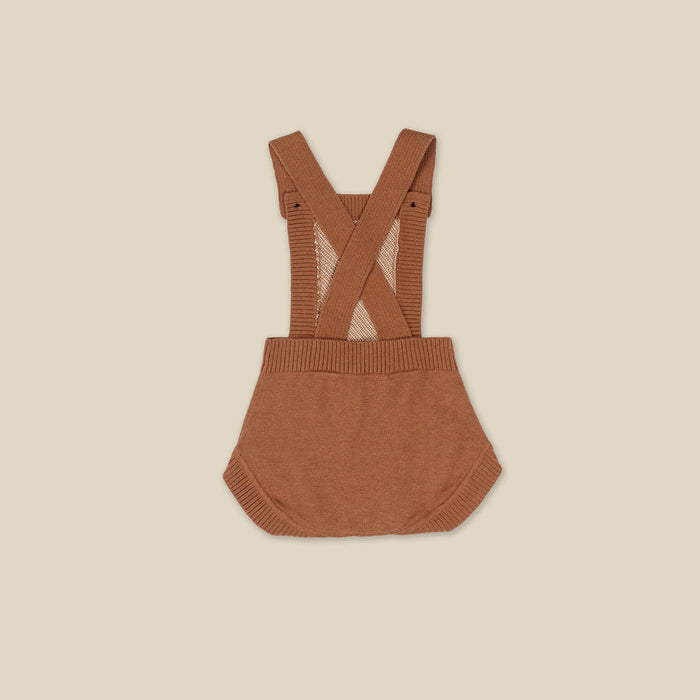 KAPOW KIDS TAWNY KNITTED PLAYSUIT
