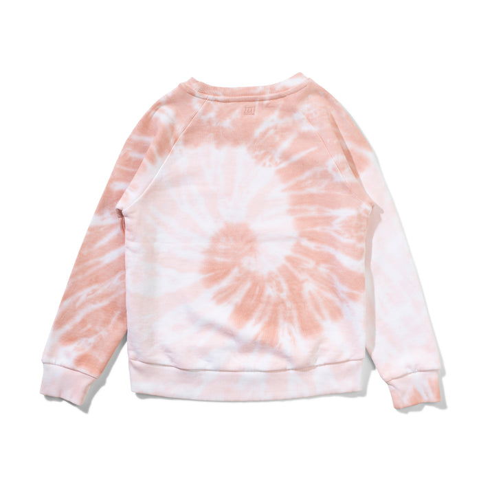 MUNSTER SUNSET WAVES CREW TIE DYE