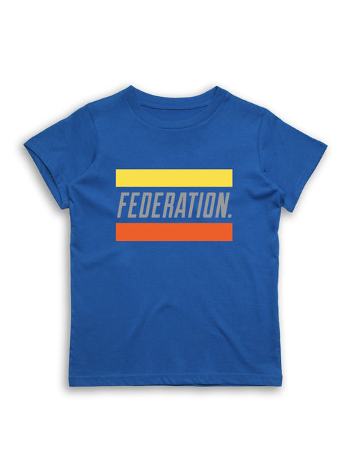 MINI FED RAD OUI TEE - ROYAL BLUE
