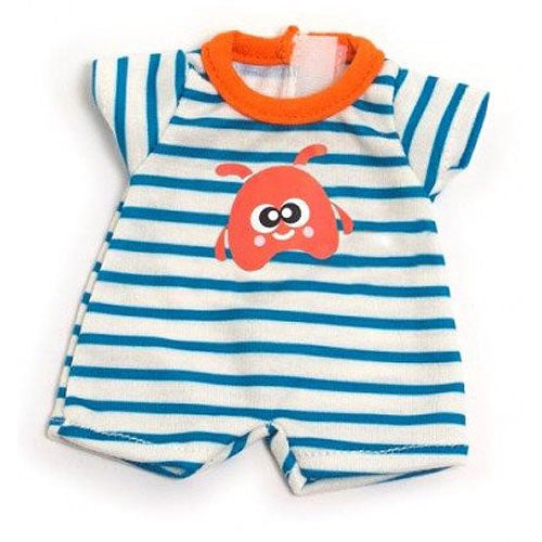 MINILAND CLOTHING LIGHT STRIPEY PJS - FITS 21CM DOLL