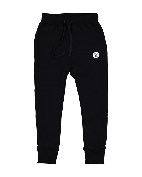 RAD TRIBE PATCH PANT IN BLACK