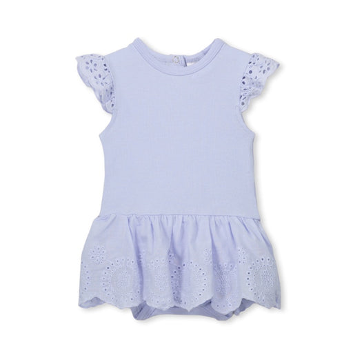 MILKY BRODERIE BABY DRESS