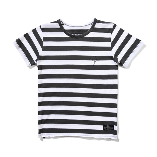 MUNSTER GOAT TEE BLACK WHITE STRIPE (PRE ORDER)