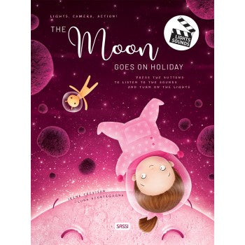 SASSI BOOKS THE MOON GOES ON HOLIDAY