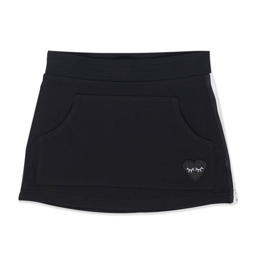 HELLO STRANGER POCKET SKIRT BLACK