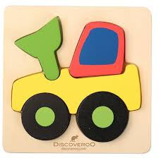 DISCOVEROO CHUNKY PUZZLE - DIGGER