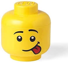LEGO STORAGE HEAD - LARGE SILLY