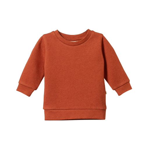 NATURE BABY EMERSON SWEATER COPPER MARLE