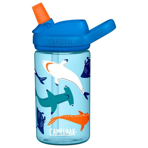 CAMELBAK EDDY DRINK BOTTLE KIDS 400ML - SHARK SQUAD