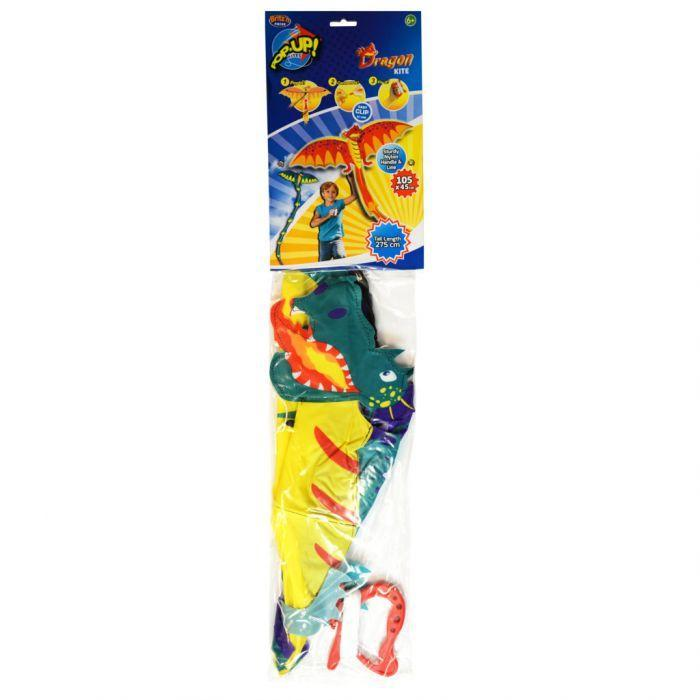 BRITZ POP UP 3D KITE - DRAGON