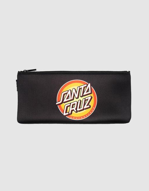 SANTA CRUZ FLEX DOT PENCILCASE - BLACK