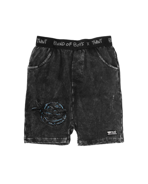 BAND OF BOYS X TMNT LEO TRACK SHORTS