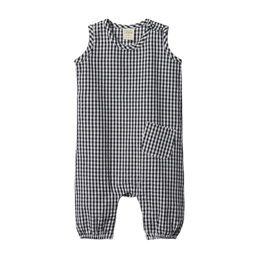 NATURE BABY GINGHAM CEDAR SUIT