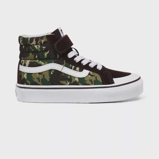 VANS KIDS SK8 HI REISSUE ANIMAL CAMO