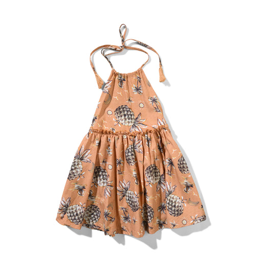 MUNSTER PINEAPPLE KEIKI DRESS (PRE ORDER)