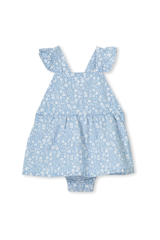 MILKY BABY DENIM DRESS CHAMBRAY
